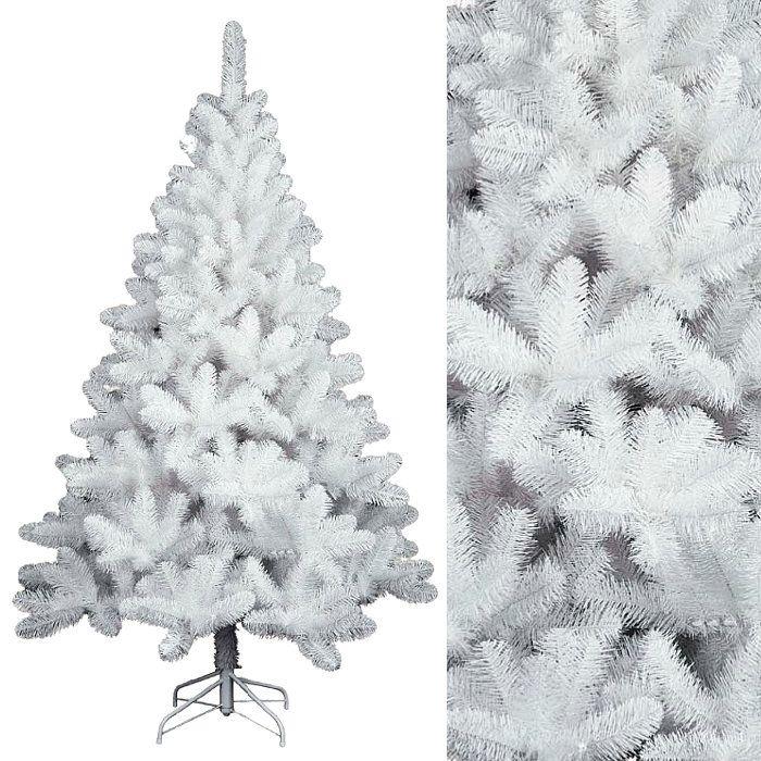 Albero Di Natale Bianco.Albero Di Natale In Pvc Colore Bianco H 210 Cm