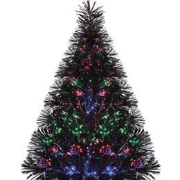 alberi con illuminazione a fibre ottiche - Illuminazione Alberi Natale