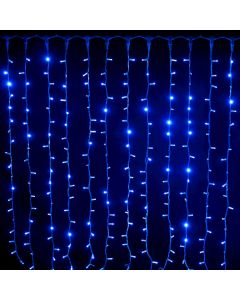 Tenda 304 Maxiled luce fissa 2 x h 1,5 m -  prolungabile - blu