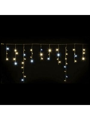Ice light natalizio 66 Led 270 x h 80 cm - prolungabile - Flashled Diamond - bianco classic