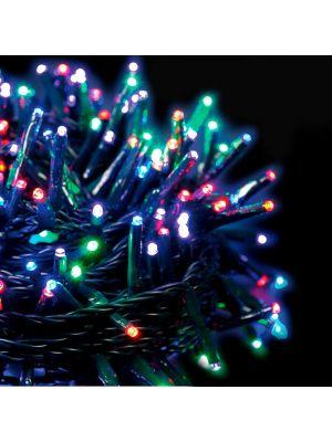 Catena di luci extralong 13,10 m - 180 miniled con memory controller - multicolor