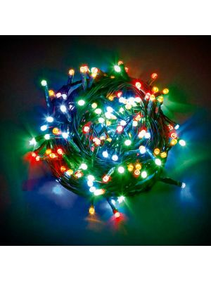 Catena di luci a led 180 miniled con controller - multicolor
