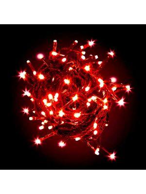 Catena di luci a led 180 miniled con controller - rosso