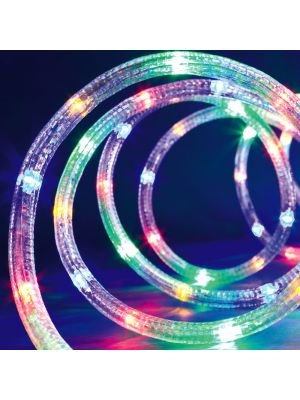 Tubo luminoso a led 15 m ø 10 mm 360 led con memory controller - multicolor