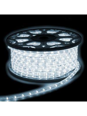 tubo luminoso in bobina da 30 metri bianco ghiaccio