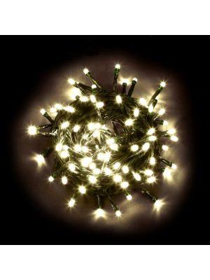 Catena luminosa 180 LED Reflex con controller bianco classic caldo