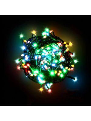 Catena luminosa 180 LED Reflex con controller multicolor da esterno