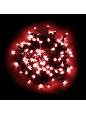 Catena luminosa 180 LED Reflex con controller rosso da esterno