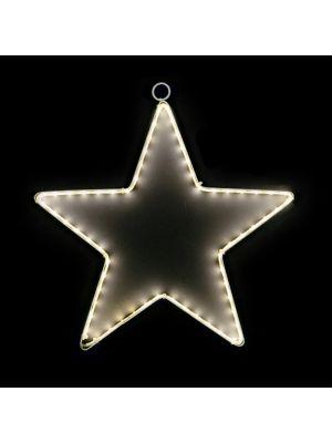 Motivo natalizio Stella 90 Ledstrip Ø 40 CM luce fissa bianco classic