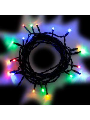 Catena luminosa presepe 20 Led Reflex a luce fissa multicolor