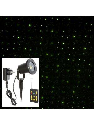 Proiettore-laser-verde