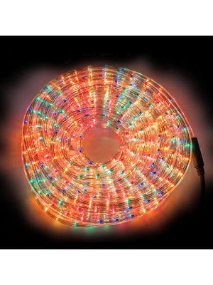 Tubo luminoso ad incandescenza 10 m con memory controller multicolor in confezione