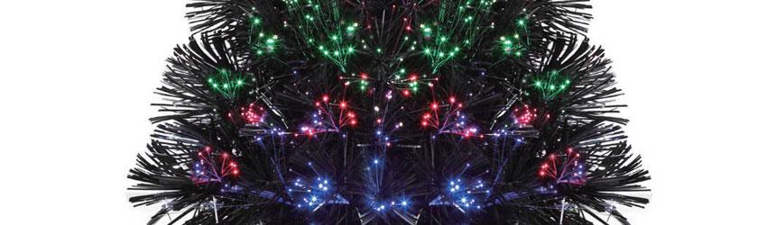 Alberi a fibre ottiche led