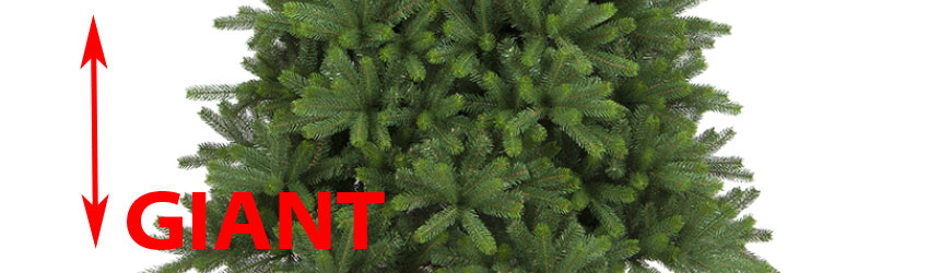 Alberi di Natale di grandi dimensioni