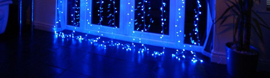Idee per illuminare con i led le finestre