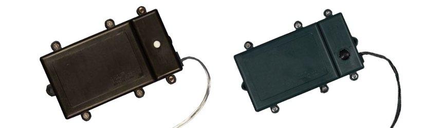 Controller a batteria per luci a led